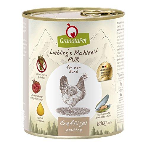 LieblingŽs Mahlzeit Preferito S pasto mangime per pollame Pur Bagnato, Confezione da (6X 800G)