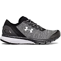 Under Armour UA W Charged Escape, Zapatillas de Running para Mujer, (Grey 001), 37.5 EU