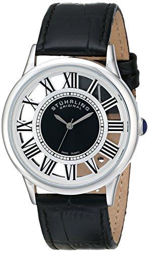 51n2BkM3J1L - Stuhrling Original Silver Mens 890G.01 watch