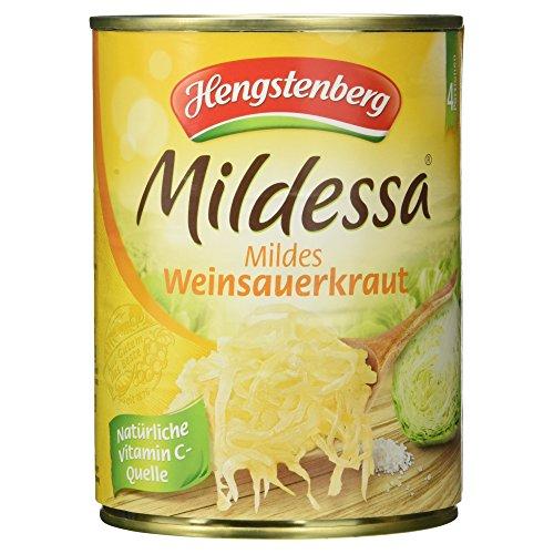 Hengstenberg Mildessa mildes Weinsauerkraut, 520 g