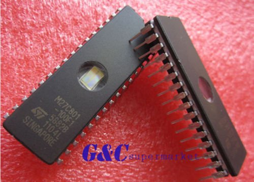10PCS M27C801-100F1 27C801 ST IC EPROM UV 8MBIT 100NS 32CDIP - Uv Eprom