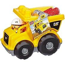 First Builders - Juego de construcción, camión CAT (Mattel CND88)