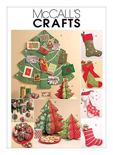 Unbekannt McCalls Schnittmuster M5778 Weihnachtsdekoration Weihnachts-Motive Weihnachten nähen