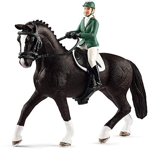 Schleich 42358 - Springreiterin mit Pferd