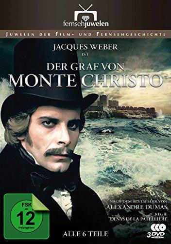 Bild von Der Graf von Monte Christo - Der komplette 6-Teiler (Fernsehjuwelen) [4 DVDs]