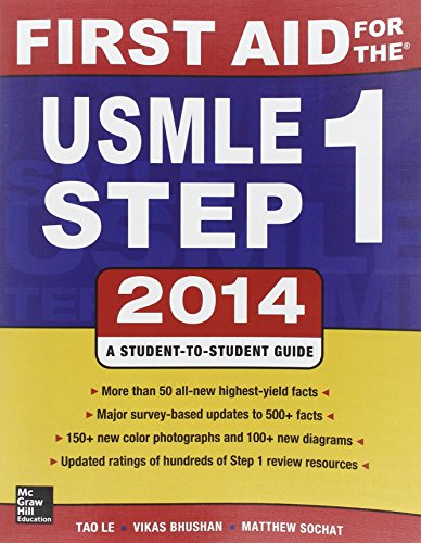 First aid for the USMLE. Step 1 (Medicina)