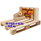 1 Palette Thermospan Holzbriketts Premium 960 kg (96 Pack á 10 kg)