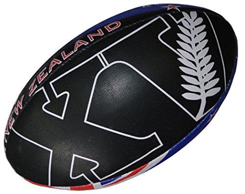 Rugby-Ball New Zealand–Kollektion für Fans–Neuseeland–Größe 5