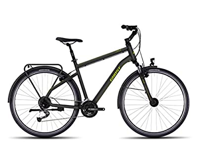 Ghost Square Trekking 3 Trekking bike Gentlemen green/black 2017 Trekking bike