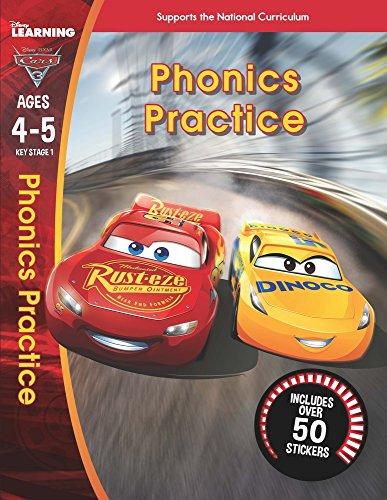 Cars 3: Phonics (Ages 4-5) (Disney Learning)
