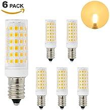 Lamparas Bombillas de Bajo Consumo de LED Casquillo Pequeño E14 11W Luz Calida 3000K El Más Brillante 1000Lm que Bombilla Halogena Incandescente de 60W Lot de 6 de Enuotek
