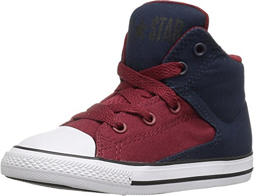 Converse Infant Chuck Taylor All Star High Street Hi Fashion Sneaker - Obsidian/Red/Blue - Boys - 7 (Converse Sneaker Toddler)