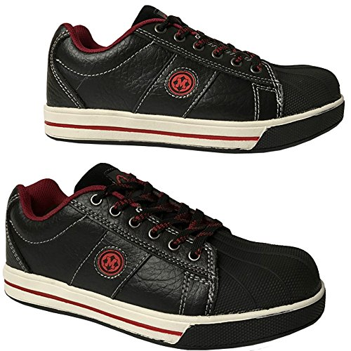 Mens Lightweight Steel Toe Cap Safety Work Trainers Shoes Boots Size 6 13UK New