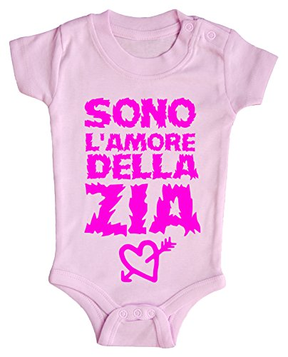 BODY neonato Sono l'amore della Zia 3 mesi