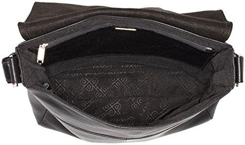 Picard Promo 25 borsa a tracolla pelle 26 cm (nero)