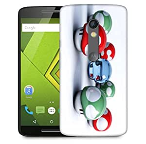 Snoogg Colorful Amazed Pattern Designer Protective Back Case Cover For Motorola Moto X Play