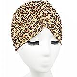 Kingnew Unisex Indische Art Stretchy Turban Schlaf Hut Haar Kopf wickeln Cap Headwrap Schal für Frauen, Farbe 10