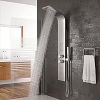 Vasca Da Bagno Con Doccia Incorporata.Colonne Doccia Sistemi Per Vasche Da Bagno E Amazon It