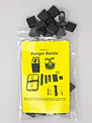 Ranger Bands High Tension Small 40 Count Fits Paracord Bracelets Made From EPDM Rubber for Survival and Strapping Gear of Var