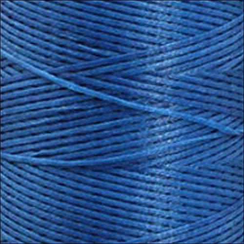 KirinStores Gewachstes Schnürband zum Flechten von Flechtschnur DIY handgenäht Leder Nähgarn Lederhandwerk Th140 Cadet Blue -