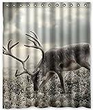 Dream Außerhalb Custom eine Art Hirsch Wasserdicht Badezimmer Stoff Duschvorhang 152,4cm (W) X 182,9cm (H)