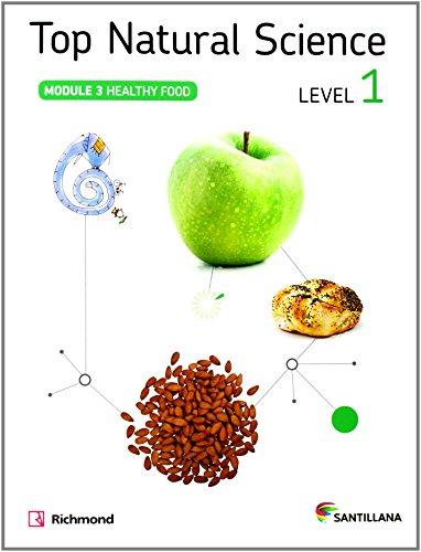 TOP NATURAL SCIENCE 1 HEALTHY FOOD - 9788468018799