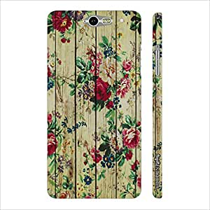 Infocos M812 April Blossom designer mobile hard shell case by Enthopia