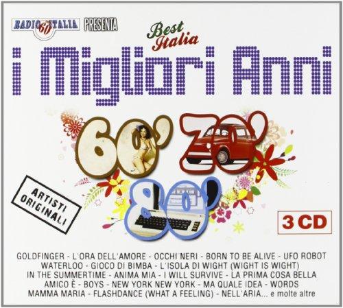 I Migliori Anni 60/70/80 Cof.3cd