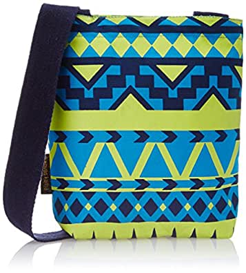Kanvas Katha Women's Sling Bag (Blue) (KKUMS003TB)