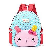DafenQ Cute Rabbit Nursery Baby Toddler Backpack Kindergarten Kids School Book Bag