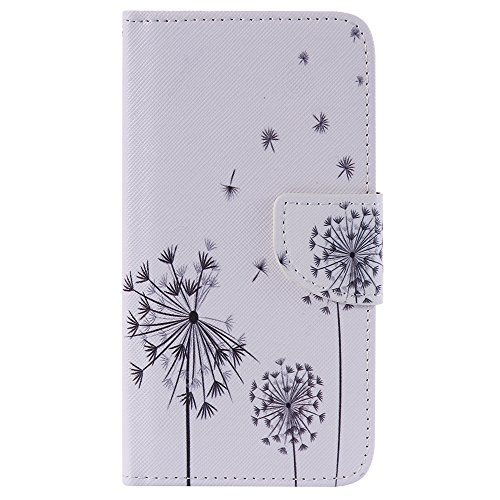 Nancen Compatible with Handyhülle LG K7 / LG Tribute 5 (5,0 Zoll) Handy Lederhülle, Flip Case Wallet Cover with Stand Function, Folio Bookstyle Handytasche