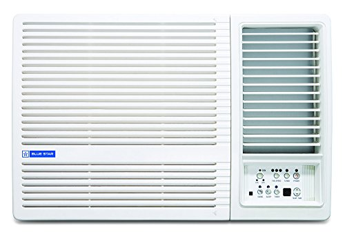 Blue Star 1.5 Ton 5 Star Window AC (Copper, 5W18LC, White)
