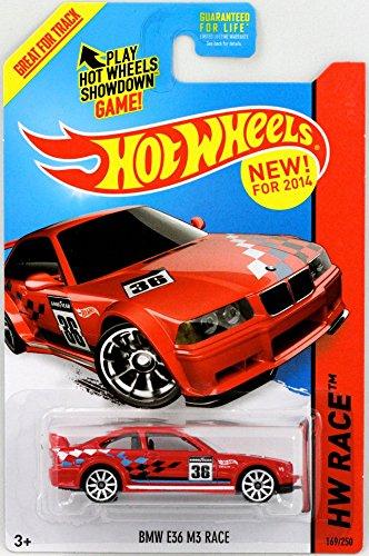 2014 Hot Wheels Hw Race - BMW E36 M3 Race - Red by Hot Wheels