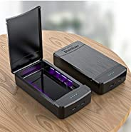 Cellphone Sanitizer Portable Cell Phone Sterilizer with Aromatherapy Function, Smart Phone Cleaner Box with US