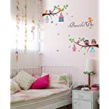 Jaamso Royals ' Kids Room Wall Sticker For Home Decor' Wall Sticker (PVC Vinyl, 30 Cm X 60 Cm, Kids Room Stickers)