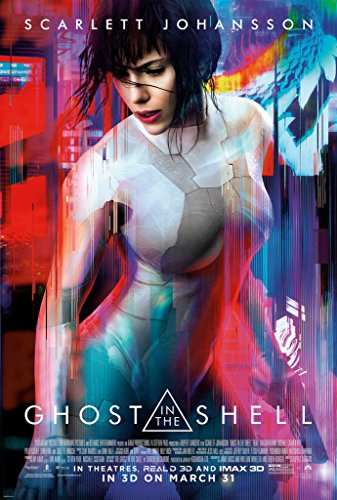 (Ghost in the Shell (2017) Movie film plakat, poster plakat in sizes)
