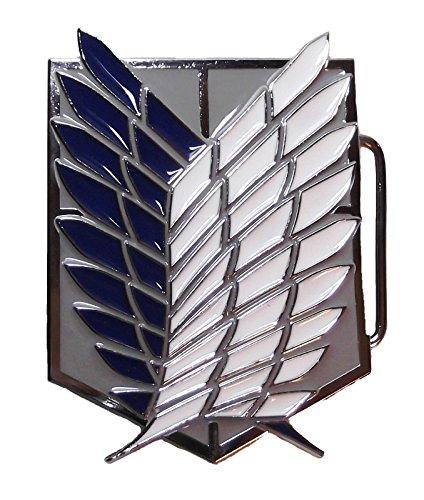 Preisvergleich Produktbild Attack On Titan Shingeki no Kyojin Gürtelschnalle Wappen Cosplay