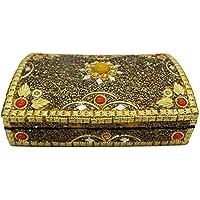 scatola di gioielli artigianali decorative lac mdf perline materiale tavola d