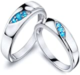 #2: Anvi Jewellers Splendiferous Special Couple Love Ring Bands For Couples
