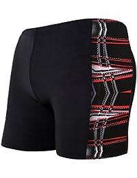 Demarkt Boxer Caleçon, Confortable Qualité Bonne élasticité Boxers Slip Plage/Sport/Natation Maillot De Bain For Hommes 1PC