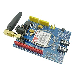 Aihasd SIM900 850/900/1800/1900 MHz GPRS/GSM/ Development Board Wireless Data Module für Arduino