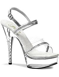 PleaserUSA Gogo-Platform High Heels Diamond-639