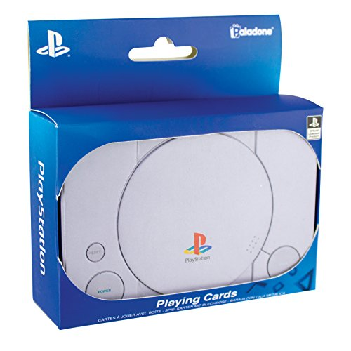 Paladone-  Cartas Play Station,  Multicolor,  Talla única (PP4137PS)