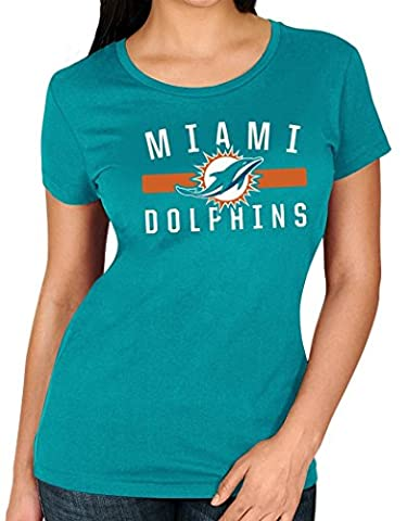 Miami Dolphins Women's Majestic NFL