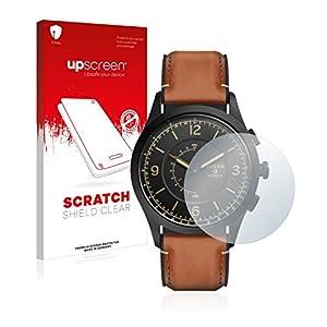 upscreen Scratch Shield Schutzfolie für Fossil Q Activist – Kristallklar, Kratzschutz, Anti-Fingerprint
