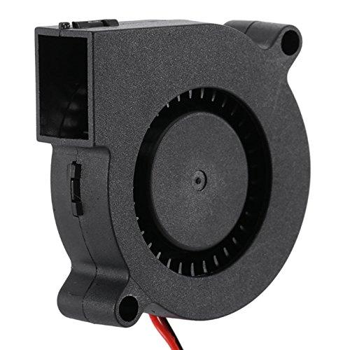 MadridGadgetStore® Ventilador Turbina 12V 5015 50x50x15 mm para Hoten