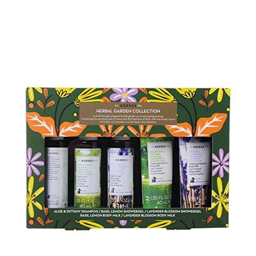 Korres Herbal Garden Mini Collection Spritzig-frisches Set in Mini Größe
