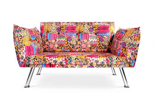 Easysitz Sofa 2 Sitzer Schlafsofa Zweisitzer Klein 2-Sitzer Couch Schlafsessel Bettsofa Futon Bed Sessel Sitz Kleines...