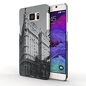 Koveru Designer Printed Protective Snap-On Durable Plastic Back Shell Case Cover for Samsung Galaxy Note 5 - The Coffee Garden