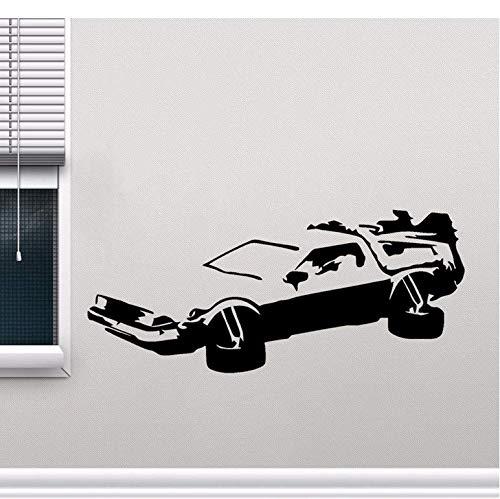 cptbtptp Auto Aufkleber Styling Fenster Stoßstange LKW Karosserie Aufkleber Zurück in die Zukunft Marty 19x8cm
